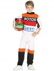 Costume da pilota di moto bambino
