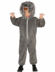 Costume da lupo grigio bambino