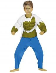 Costume muscoli verdi bambino