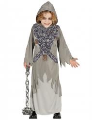 Costume da fantasma grigio incatenato per bambino