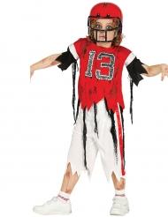 Costume da giocatore di football zombie per bambino