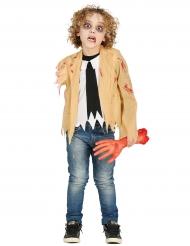 Costume zombie senza braccio per bambino