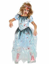 Costume da principessa azzurra per Halloween