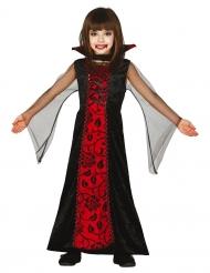 Costume da contessa delle tenebre per bambina