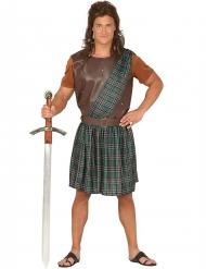 Costume scozzese verde da uomo