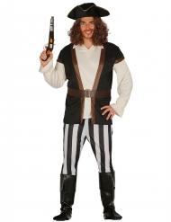 Costume da filibustiere pirata per uomo