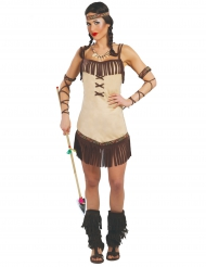 Costume da indiana Miwok per donna
