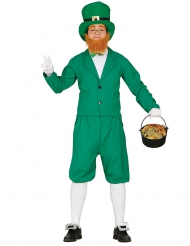 Costume da folletto verde per uomo