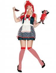 Costume da bambola di pezza per donna