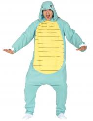 Costume da piccolo mostro tartaruga per adulto