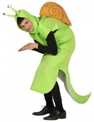 Costume da lumaca verde per adulto
