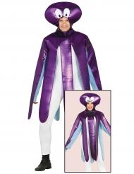 Costume da polpo viola per adulto