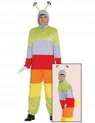 Costume da Bruco colorato per adulto
