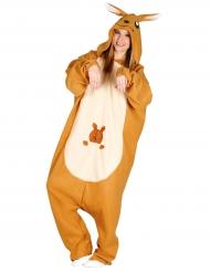 Costume da simpatico canguro per adulto