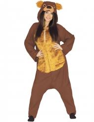 Costume da Orso Bruno per adulto