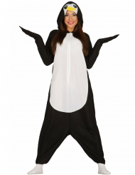 Costume intero da pinguino per adulto