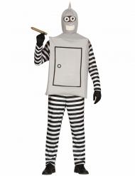 Costume da Robot fumatore per adulto