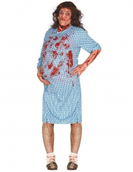 Costume da donna in cinta zombi per adulto
