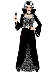 Costume da fantasma barocco per donna halloween