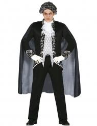 Costume da fantasma barocco per uomo Halloween