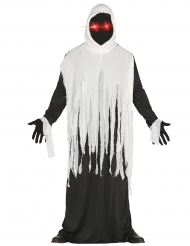 Costume da fantasma con occhi led per adulto