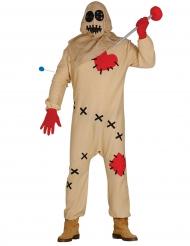 Costume bambola vodoo adulto