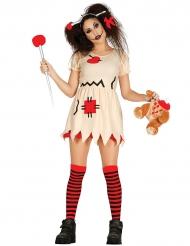 Costume da bambola voodoo per adulto