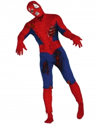 Costume da uomo ragno zombi per adulto