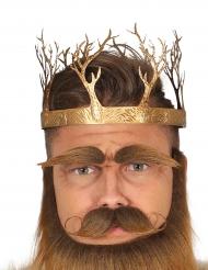 Corona da re medievale per adulto