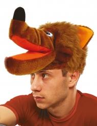 Cappello da lupo per adulto