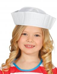 Cappello marinaio bianco per bambino