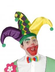 Cappello Arlecchino tricorno per adulti