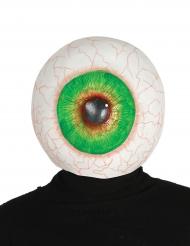 Maschera occhio gigante in latex per adulto