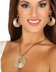 Collana e orecchini da Dea Greca
