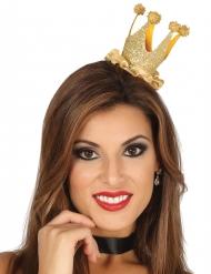 Mini corona da regina con brillantini