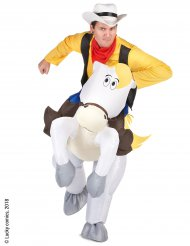 Costume Jolly Jumper e Lucky Luke™ adulto