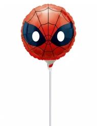 Palloncino in alluminio con asta Spiderman™ 23 cm