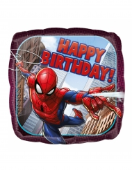 Palloncino in alluminio Spiderman Happy Birthday ™43 cm