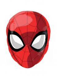 Pallone alluminio Testa di Spiderman ™ 30 x 43 cm