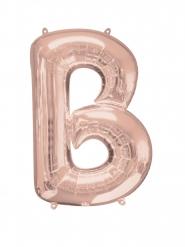 Palloncino alluminio Lettera B rosa 58x86 cm