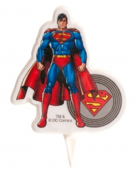 Candelina compleanno Superman ™ 7.50cm