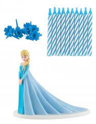 Kit di decorazioni Elsa Frozen™ per torta