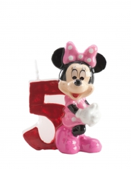 Candela numero 5 Minnie™ 6.5 cm