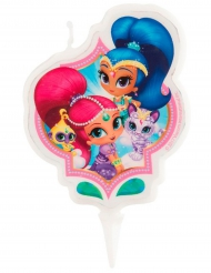 Candelina compleanno Shimmer and Shine ™ 7 cm