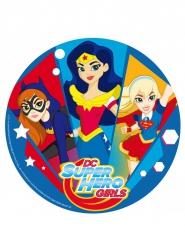 Disco di zucchero DC Super Hero Girls™da 20 cm