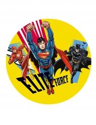 Disco di zucchero Justice League™ 20 cm