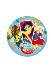 Disco di ostia DC Super Hero Girls ™ 20 cm aleatorio