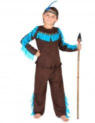 Costume da indiano marrone per bambino