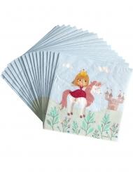 20 tovaglioli di carta Principessa