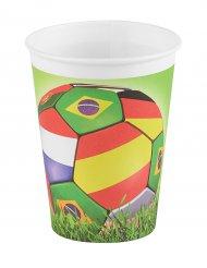 6 bicchieri Football 25 cl